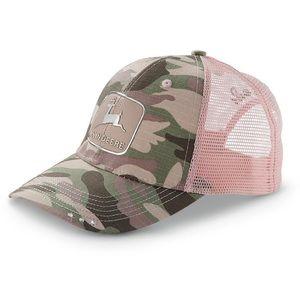 John Deere Camo Pink SnapBack Hat
